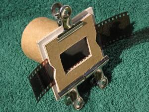 home made diy slide duplicator and negative scanner